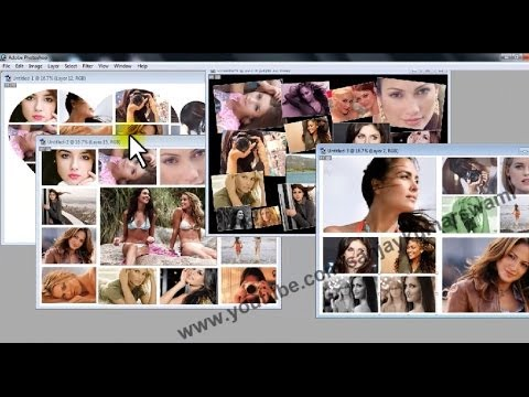 Create Collage in adobe Photoshop within few seconds ...