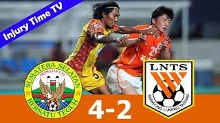 Sriwijaya FC 4-2 Shandong Luneng | All Goals & Highlights English Commentary | AFC Champions League