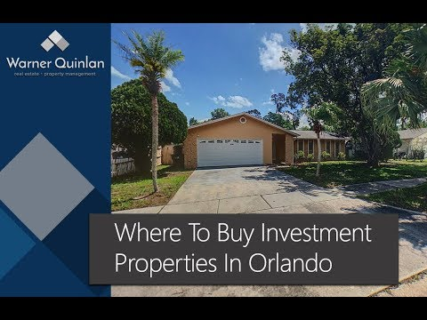 Where to buy Investment Property in Orlando | Property Management Advice
