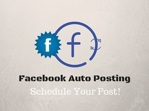 Facebook Auto Posting || Schedule Your Post On Facebook!