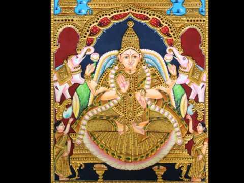 Types of Lakshmi Tanjore Paintings