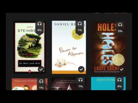 Setting Up Kindle Fire for Library and Classroom Use