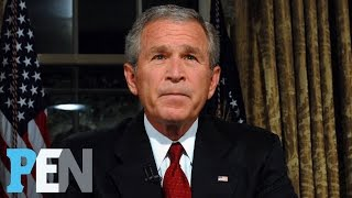 George W. Bush On Donald Trump, Michelle Obama, 9/11 & Much More | PEN | Entertainment Weekly