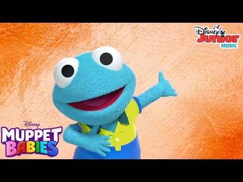What This Frog Likes Music Video   Muppet Babies   Disney Junior