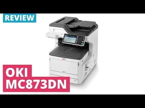 OKI MC873dn A3 Colour Multifunction LED Laser Printer