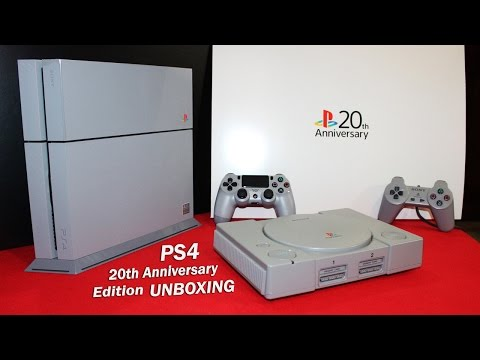 *RARE* PlayStation 4: 20th ANNIVERSARY EDITION Unboxing - Brand New! [HD 1080P]