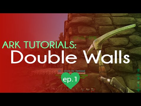 How to Build a Double/Triple Wall | TL;DR Tricks | Ark Survival Evolved | Episode 1