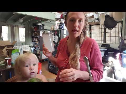 Making coconut water kefir with water kefir grains