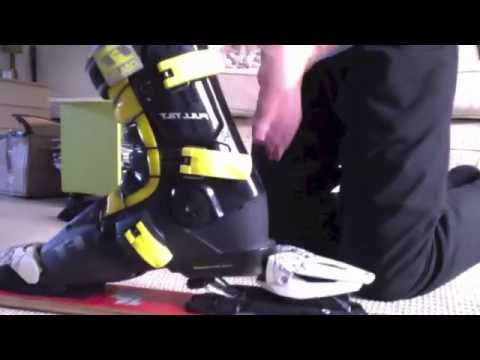 HOW TO ADJUST MARKER M10 BINDINGS!!