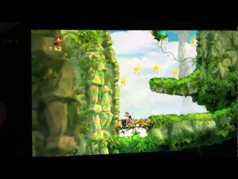 PS Vita Rayman Origins Gameplay