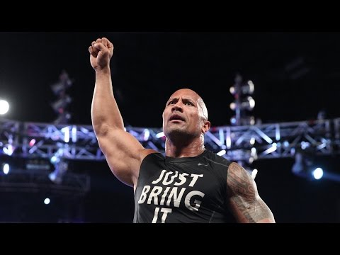 Rock's Shocking Return: Raw, Oct. 6, 2014