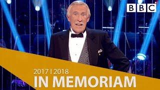 In Memoriam - The British Academy Television Awards 2018 - BBC One