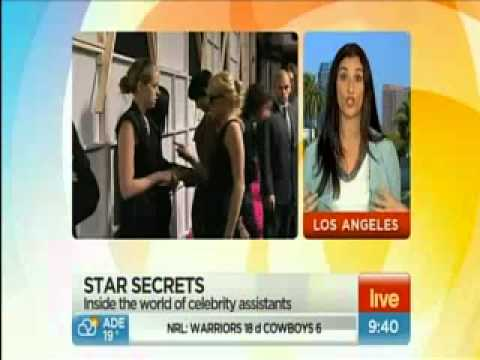 TheGrapevineAgency.com interview on Channel 7 Australia!