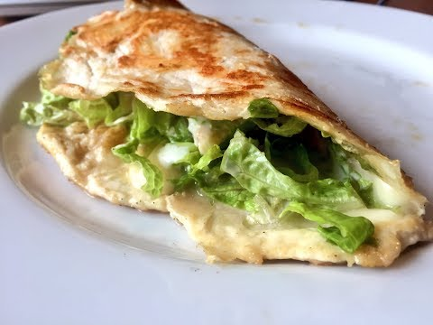 How to Make a Naked Chicken Chalupa, Super Low Carb.