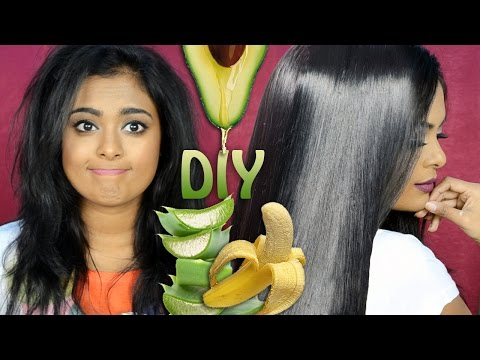 DIY: Treat Dry, Damaged, Frizzy Hair Naturally At Home-Winter Haircare  to Get Soft, Glossy  Hair