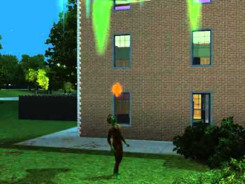 Plantsim gets abducted by aliens in Sims 3