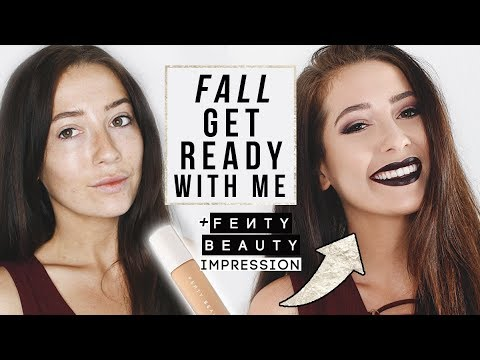 Fall Get Ready With Me! + Fenty Beauty First Impression!