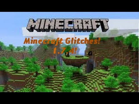 Minecraft 1.7.4 Glitches!-- 4 VERY Useful Glitches in Minecraft!