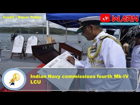 Indian Navy commissions fourth Mk-IV LCU