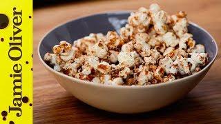 100 Calorie Popcorn Snack Jamie Oliver