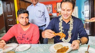 AMAZING Indian Food ADVENTURE in KOLKATA, India   BEST Indian Street Food and Homemade Indian CURRY