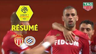 AS Monaco - Montpellier Hérault SC ( 1-0 ) - Résumé - (ASM - MHSC) / 2019-20
