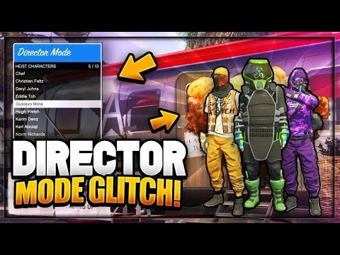 GTA 5 DIRECTOR MODE GLITCH 1.42 - *WORKAROUND!* DIRECTOR MODE TRAILER GLITCH! (Modded Outfits)