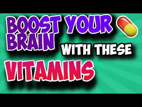 Top 3 Vitamins For Brain Health And Improved Concentration - Boost Your Brain Now!