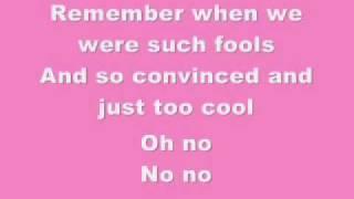 Download Pink- Who Knew-Lyrics