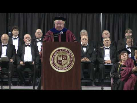 Thomas Edison State University 2016 Commencement Ceremony