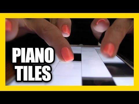Fastest Piano Tiles Time   iJustine