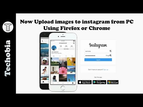Now you can upload images on Instagram from PC using Firefox or Chrome Browser - No Plugin Required