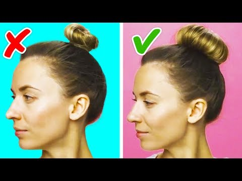 15 ONE-MINUTE HAIRSTYLES FOR BUSY MORNINGS