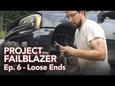 Project Failblazer Episode 6 - Fixing A/C Actuators, Front Axle & more