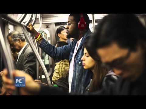No more sleeping on the NYC subway