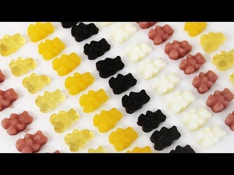 How to Make Healthy Gummy Bears   健康にいい!手作りグミベア