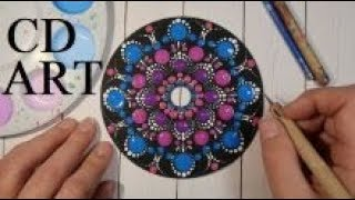 How To Paint Dot Mandalas Spiral FULL STEP BY STEP TUTORIAL