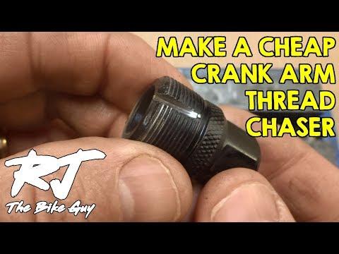 Make A Crank Arm Thread Chaser Tool Under $4 - Clean/Repair Threads