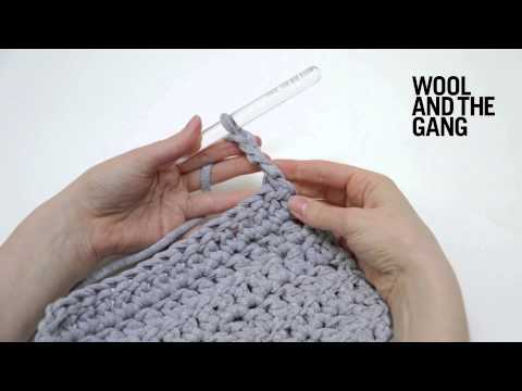 How to crochet turning chains