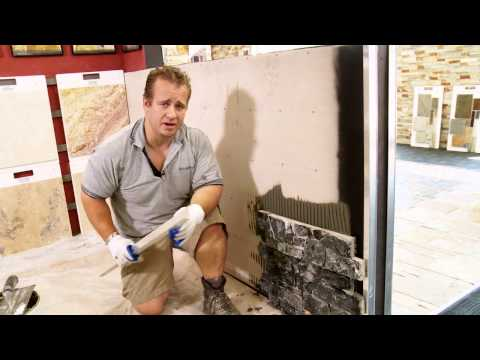 NEW VIDEO - How to apply Ledge Stone NEW APPLICATION TECHNIQUES DecoR Stone
