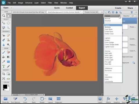 How to Use Layers in Photoshop Elements 12 - Part 5 - Using Blending Layers in PSE 12