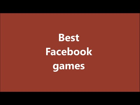 Best facebook games (pc/ios/android)