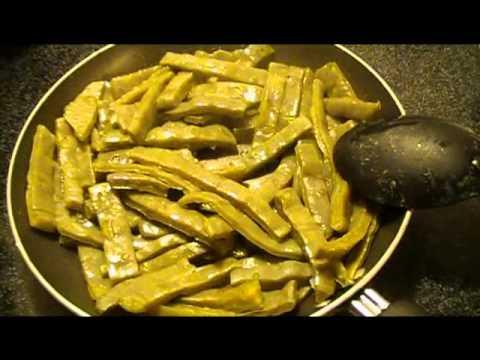 Fried Cactus (Nopales Frito)