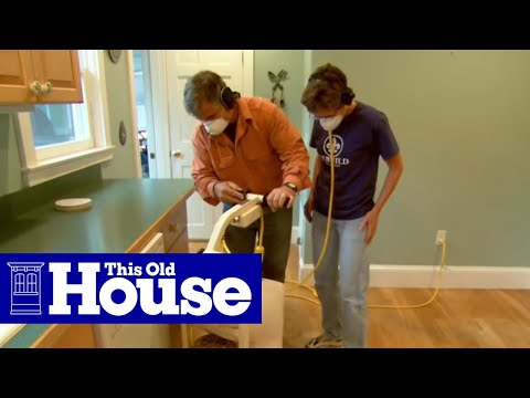 How to Strip a Hardwood Floor - This Old House