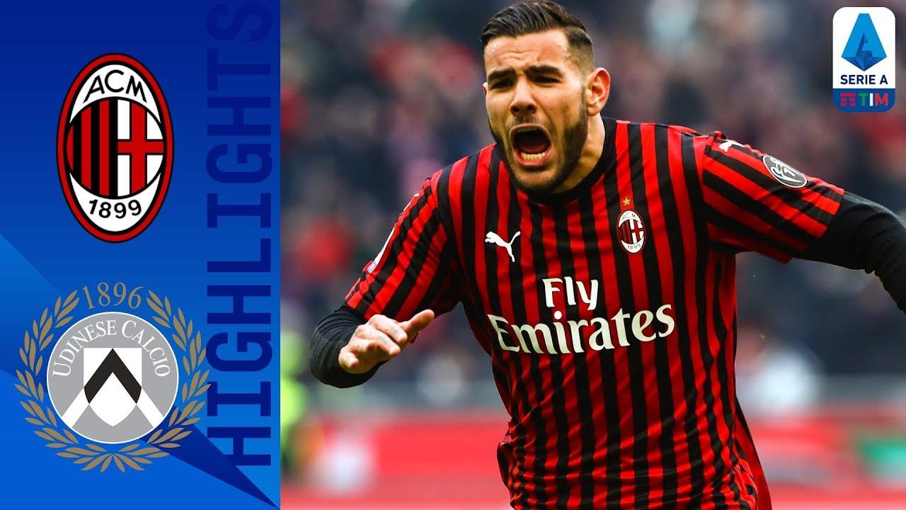 AC Milan 3-2 Udinese | Brilliant Last Minute Rebic Strike Wins Incredible Game! | Serie A TIM