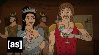 Behind The Scenes: Characters | Apollo Gauntlet | Adult Swim