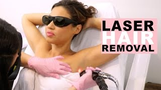 How To Laser Hair Removal For Women | My Laser Hair Removal Journey  | Eman