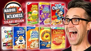 Download March Milkness Taste Test: Sugary Cereals Video