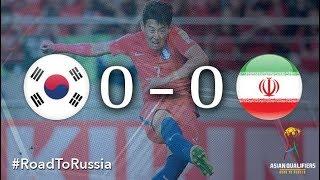 Korea Republic vs Iran (2018 FIFA World Cup Qualifiers)