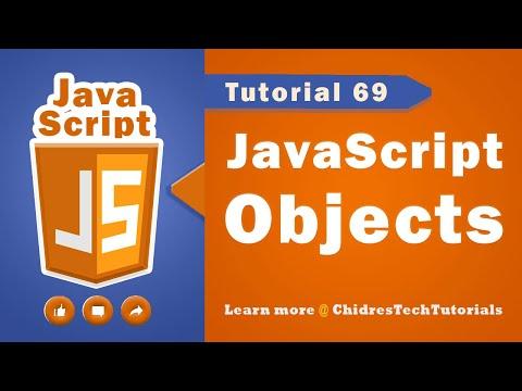 JavaScript tutorial 86 - Objects in javascript